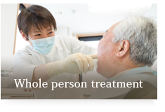 Whole person treatment