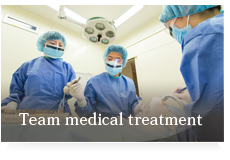 Team medical treatment
