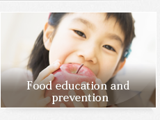 Food education and prevention